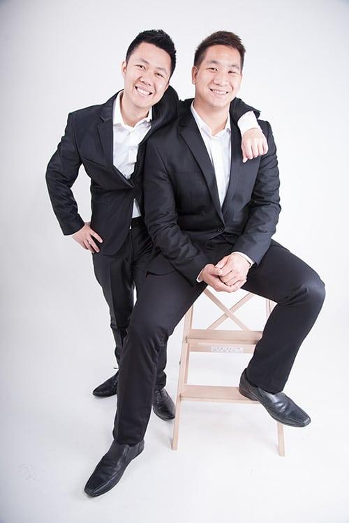 Jono and Ich